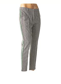 Pantalon casual gris VILA pour femme