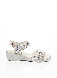Sandales/Nu pieds gris GEO-REINO pour femme