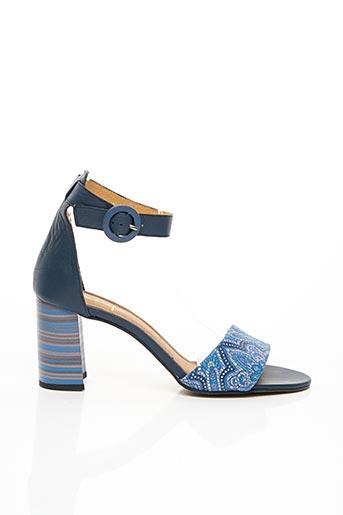 Sandales/Nu pieds bleu MACIEJKA OBUWIE pour femme