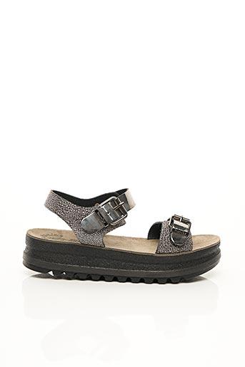 Sandales/Nu pieds gris FANTASY SANDALS pour femme
