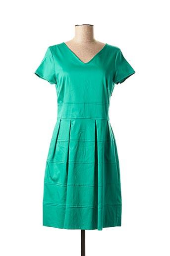Robe courte vert POUSSIERE D'ETOLE pour femme
