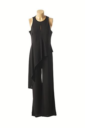 Combi-pantalon noir PAZ TORRAS pour femme
