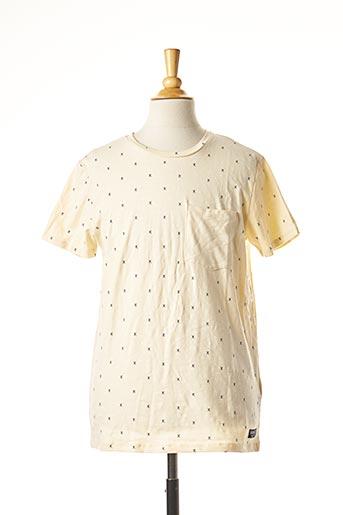 T-shirt manches courtes beige NAME IT pour garçon