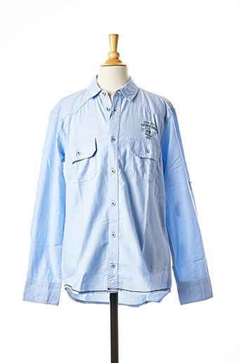 Chemise manches longues bleu TIFFOSI pour garçon