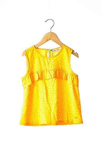 Tunique sans manche jaune TIFFOSI pour fille