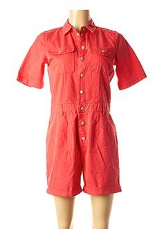 Combishort rouge VILA pour femme