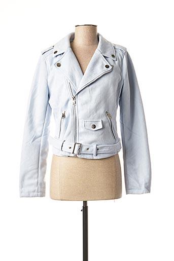 Veste casual bleu H F WOMAN COLLECTION pour femme
