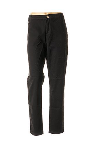 Pantalon casual noir CHERRY BERRY pour femme