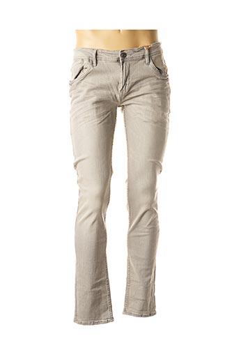 Pantalon casual gris BLEND pour homme