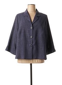 Veste casual bleu GRIFFON pour femme