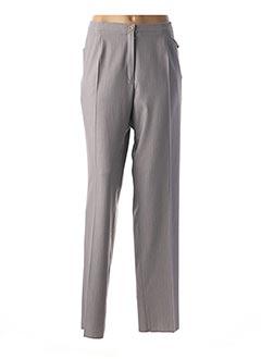 Pantalon chic gris GRIFFON pour femme