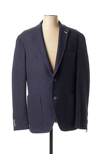 Veste casual bleu BARUTTI pour homme