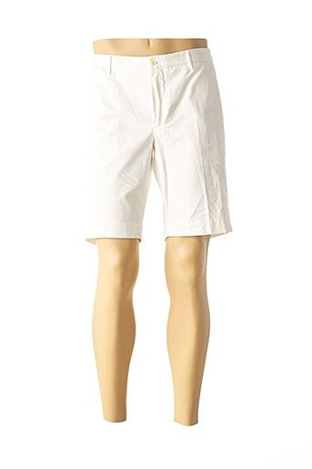 Bermuda blanc HACKETT pour homme