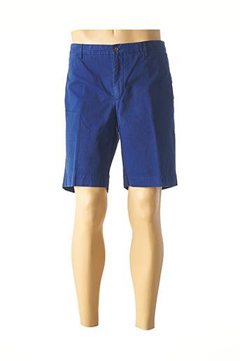 Bermuda bleu HACKETT pour homme