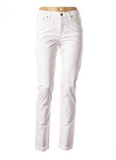 Pantalon casual blanc LCDN pour femme