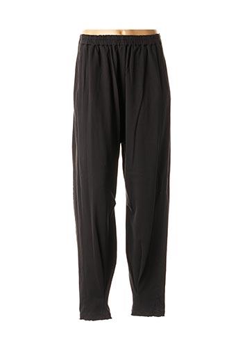 Pantalon casual noir ELEMENTE CLEMENTE pour femme