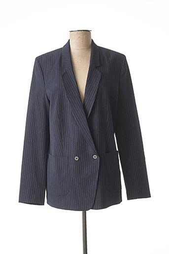 Veste chic / Blazer bleu FREEMAN T.PORTER pour femme