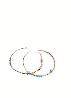 Boucles d'oreilles rouge HIPANEMA pour femme