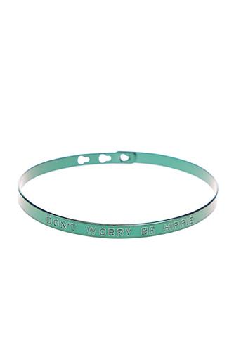 Bracelet Jonc vert MYA-BAY pour femme