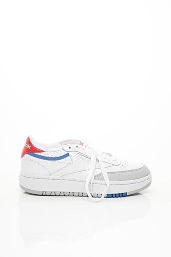 Baskets blanc REEBOK pour femme