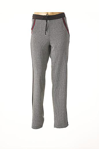 Pantalon casual noir LILI & CAROLINE pour femme