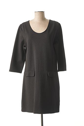 Robe mi-longue noir IMPAQT pour femme