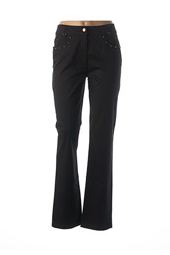 Pantalon casual noir EPICEA pour femme