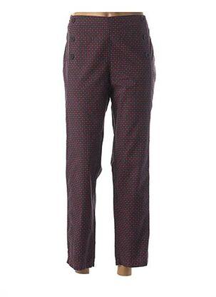 Pantalon 7/8 rouge DEAUVILLE pour femme