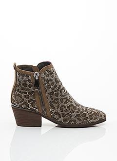 Bottines/Boots marron ALMA EN PENA pour femme