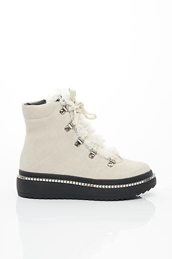 Bottines/Boots gris INUOVO pour femme