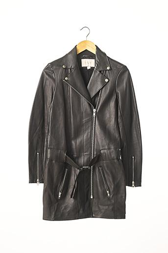 Robe courte noir MAJE pour femme