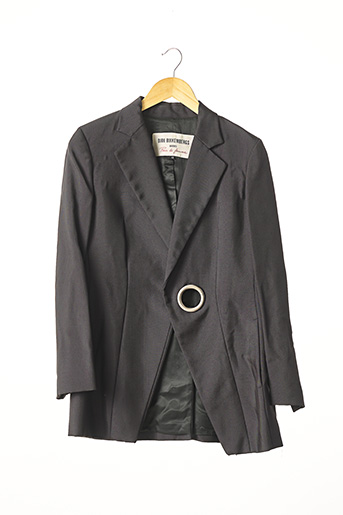 Veste chic / Blazer noir DIRK BIKKEMBERGS pour femme