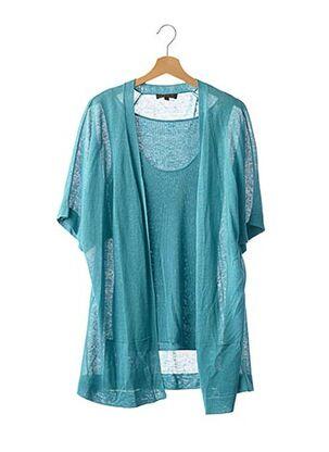 Twin-set bleu APOSTROPHE pour femme