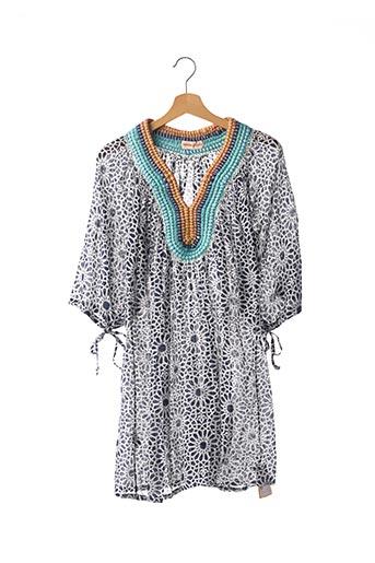 Robe courte bleu CECILIA PRADO pour femme