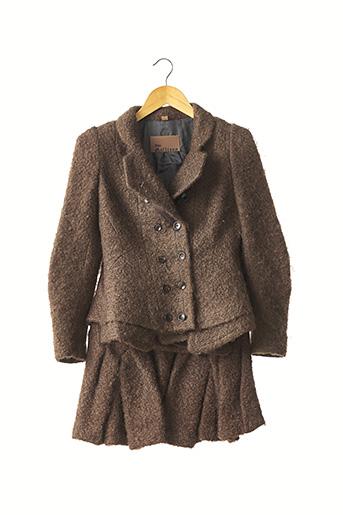 Veste/jupe marron GALLIANO pour femme