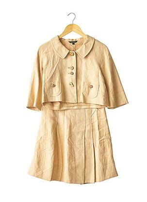 Veste/jupe beige TARA JARMON pour femme