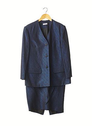 Veste/jupe bleu FRED LANSAC pour femme