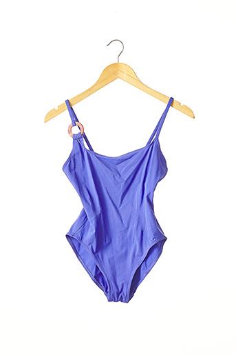Maillot de bain 1 pièce bleu ERES pour femme