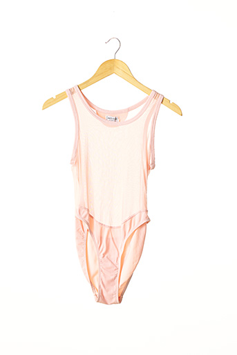 Body rose ANTI-FLIRT pour femme