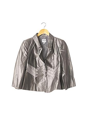 Veste chic / Blazer gris ARMANI pour femme