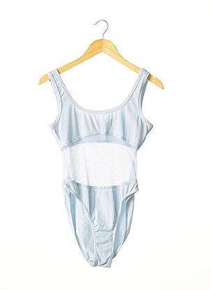 Body bleu ANTI-FLIRT pour femme