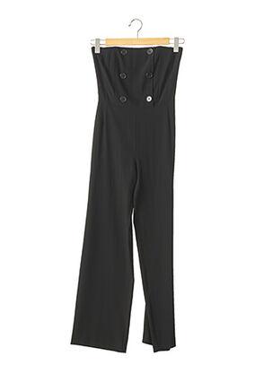 Combi-pantalon noir KATHLEEN MADDEN pour femme