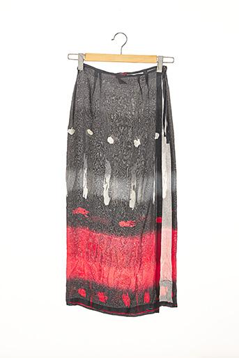 Jupe longue gris CHACOK pour femme