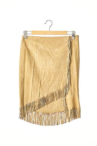 Jupe mi-longue beige RALPH LAUREN pour femme
