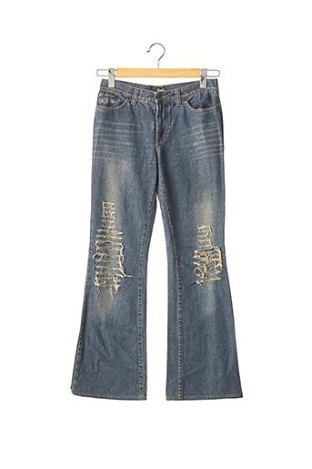 Pantalon 7/8 bleu DOLCE & GABBANA pour femme