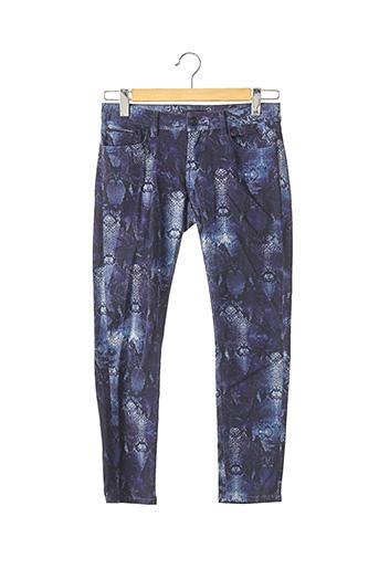 Pantalon 7/8 bleu THE KOOPLES pour femme