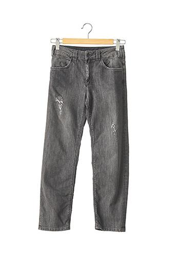 Pantalon 7/8 gris SANDRO pour femme