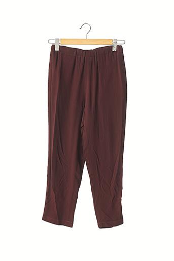 Pantalon 7/8 rouge MARNI pour femme
