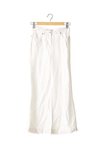 Pantalon chic blanc ROBERTO CAVALLI pour femme