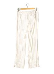 Pantalon chic blanc ARMANI pour femme seconde vue